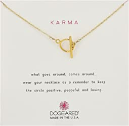 Dogeared - Karma Toggle Necklace