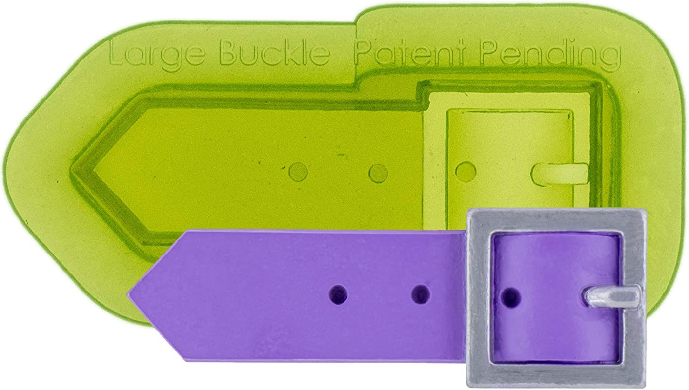 Marvelous Molds Large Buckle Silicone Mold For Cake Decorating With Fondant And Gum Paste Icing