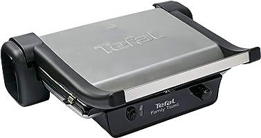 Tefal GC101 Family Toast Deluxe, Döküm Plaka, 2000 Watt