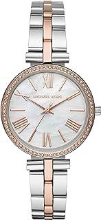 Michael Kors Maci Women's White Dial Stainless Steel Analog Watch - MK3969