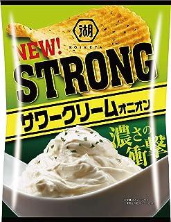 湖池屋 KOIKEYA STRONGポテトチップスサワークリームオニオン 56g ×12袋