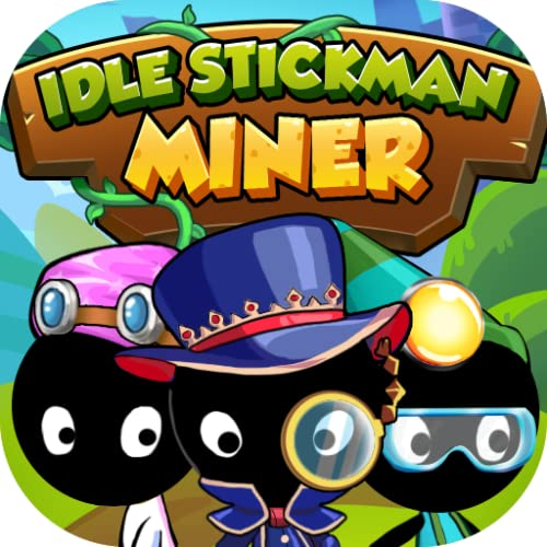 Idle Stickman Miner Tycoon for Kindle Fire 2020