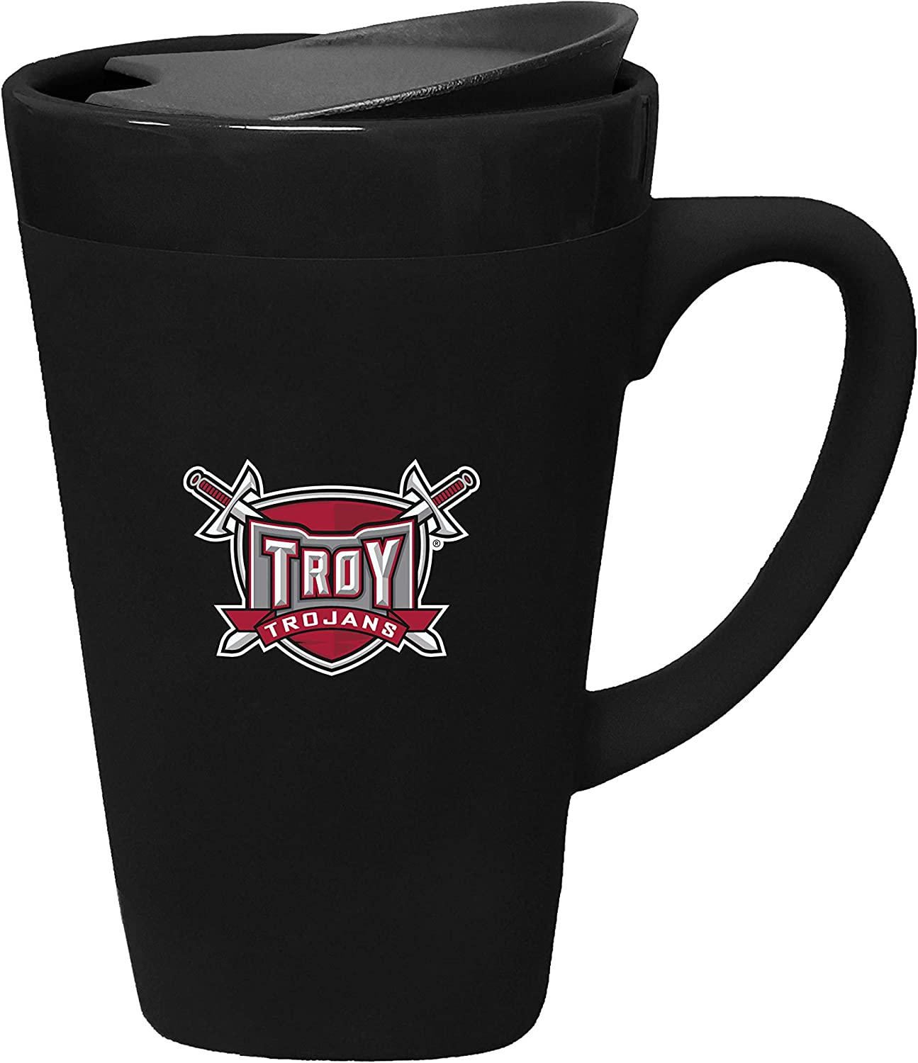The Fanatic New Shipping Free Group At the price Troy University Porcelain Lid Swivel with Mug