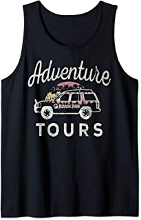 Jurassic Park Adventure Tours Safari Jeep Tank Top