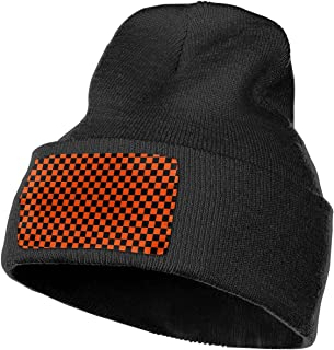 Horizon-t 911 Dispatcher Thin Gold Line Flag Unisex 100% Acrylic Knitting Hat Cap Fashion Beanie Hat