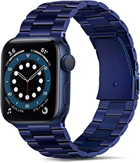 Tasikar Band Compatible with Apple Watch Band 40mm 38mm Premium Stainless Steel Metal Replacement Strap Compatible with Ap...