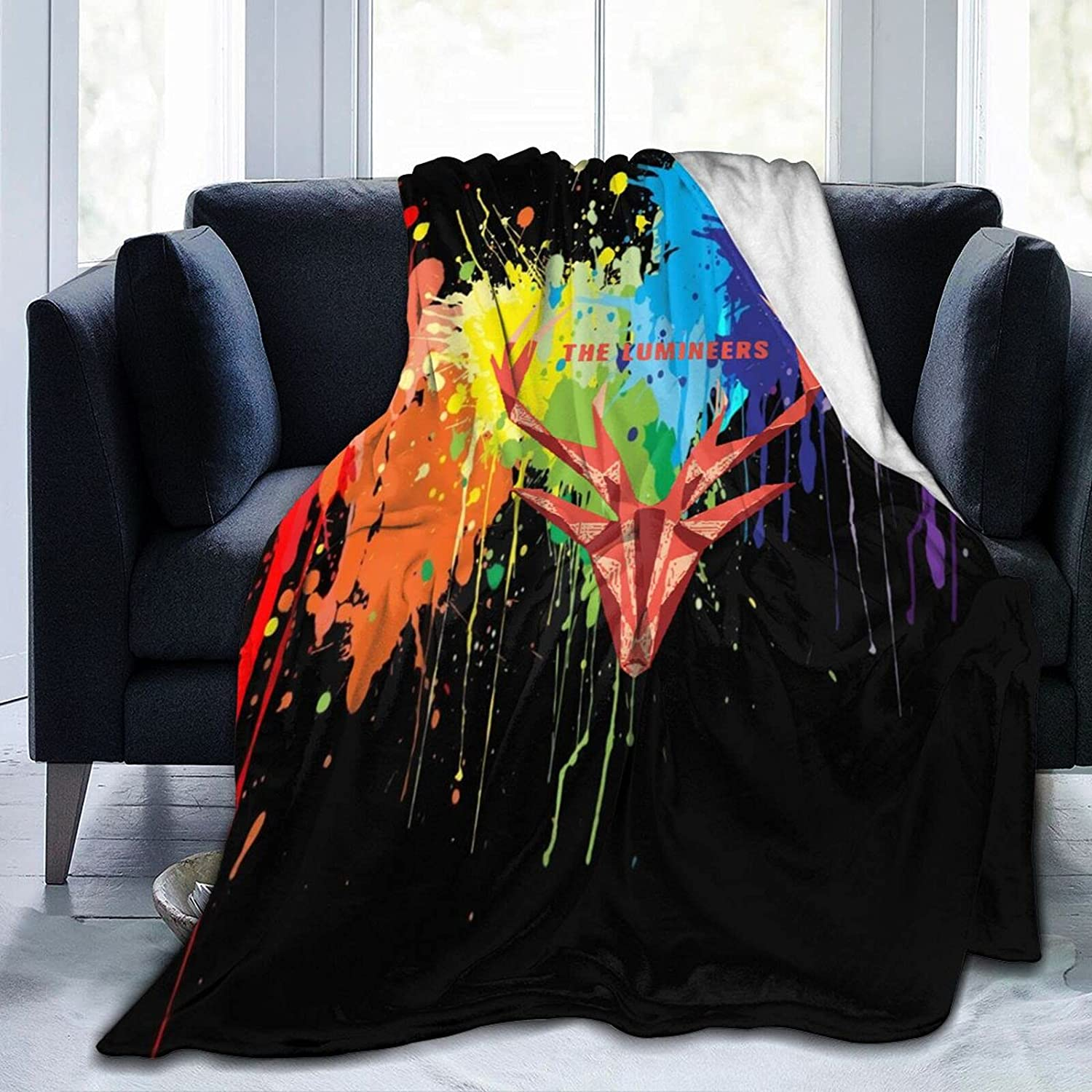 The Lumineers Blanket 3D Printed C 5% OFF Comfy New sales Throw Fuzzy Air