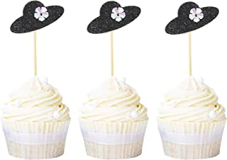 Best hat cupcake toppers Reviews