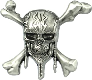 Disney Pirates of The Caribbean Skull Logo Pin Novelty