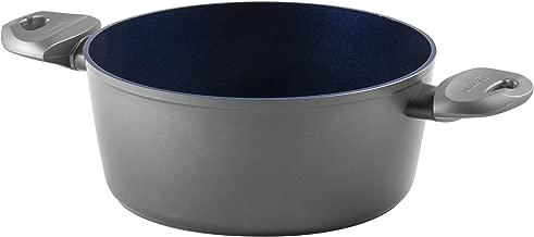 Aeternum Titanium Induction Casseruola con 2 Manici, Alluminio, Grigio, 22 cm