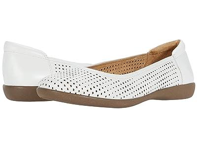 Naturalizer Flexy 2 (White Leather) Women