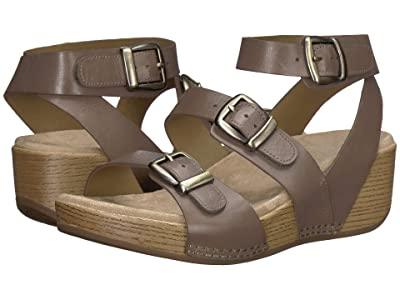 Dansko Lou (Taupe Burnished Calf) Women