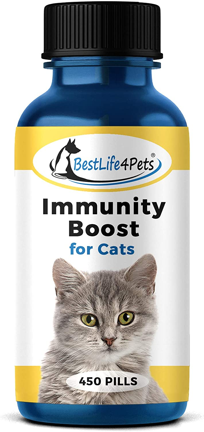 High material Limited time cheap sale BestLife4Pets Immunity Boost for Cats Yo – Supplement Helps