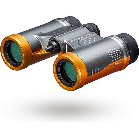 PENTAX 双眼鏡 UD 9x21 グレーオレンジ 明るく見やすい視界を確保, 持ち運びしやすいダハプリズムの小型ボディ, フルマルチコーティング採用でフレアやゴーストを抑えた良好な像性能を実現, 倍率と明るさを両立した倍率9倍, 三脚対応, コンサート スポーツ観戦 旅行 メーカー保証1年 ペンタックス 61814