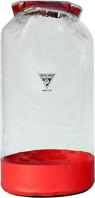 Seattle Sports Glacier Clear Heavy Duty Waterproof Dry Bag  USA Made