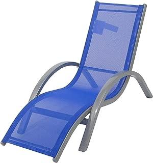 Redmon Kids Lounger Beach Chair, Blue
