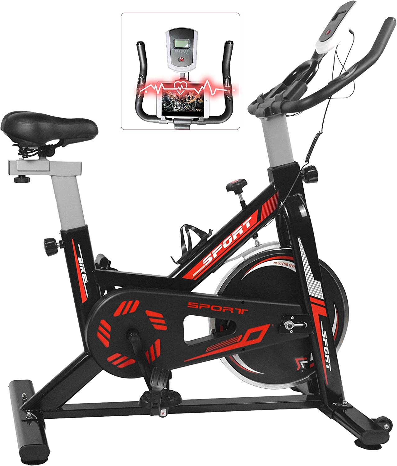 Exercise Bike Stationary Indoor Cycling Driv Belt Magnetic High quality new Fresno Mall