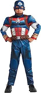 Marvel Captain America Costume for Boys, Size 11/12