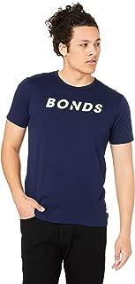 Bonds Men's Logo Crew Tee, Black