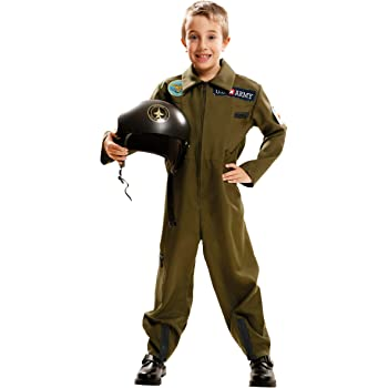 My Other Me Me-202086 Disfraz Top Gun para niño, color grun, 5-6 ...