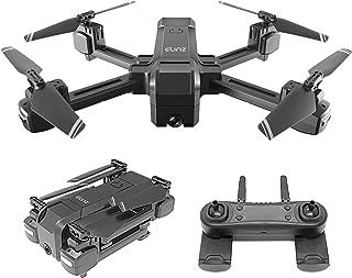 Elinz RC Drone 4K Photo Foldable 2K FPV Dual Camera 2.4Ghz WiFi Quadcopter Brush Motor 1080P Follow Me Mode, Gesture Contr...