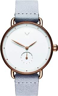 MVMT Bloom Watches   36MM Women's Analog Minimalist Watch   Ghost Iris
