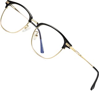 6805ca6c87f ATTCL Unisex Blue Light Blocking Glasses Eyeglasses Frame Anti Blue Ray  Computer Game Glasses