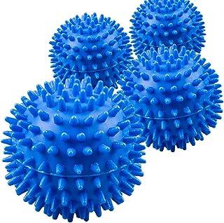 Bolas del secador de lavandería de 8 piezas: la ropa saldrá suave, esponjosa,