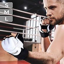 Guantes de Boxeo - Talla S/M/L/XL sin Dedos, Profesionales