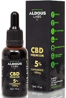 Auténtico CBD Oil 5% | Aceite de Cáñamo Bio enriquecido con 5% CBD | 30ml - 1200 gotas Aceite CBD Premium | Ayuda a reduci...