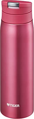 タイガー 水筒 500ml 直飲み ステンレス ミニ ボトル オートロック サハラ マグ 軽量 夢重力 オペラ ピンク MCX-A050-PO Tiger