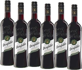 Rotwild Dornfelder Qualitätswein halbtrocken 6 x 0.75 l