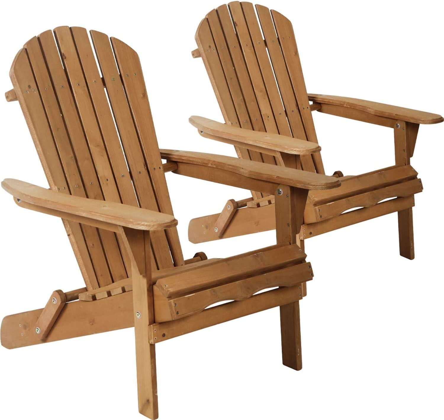 Folding Wooden Adirondack Chair In stock Albuquerque Mall Accent W Lounger Furniture