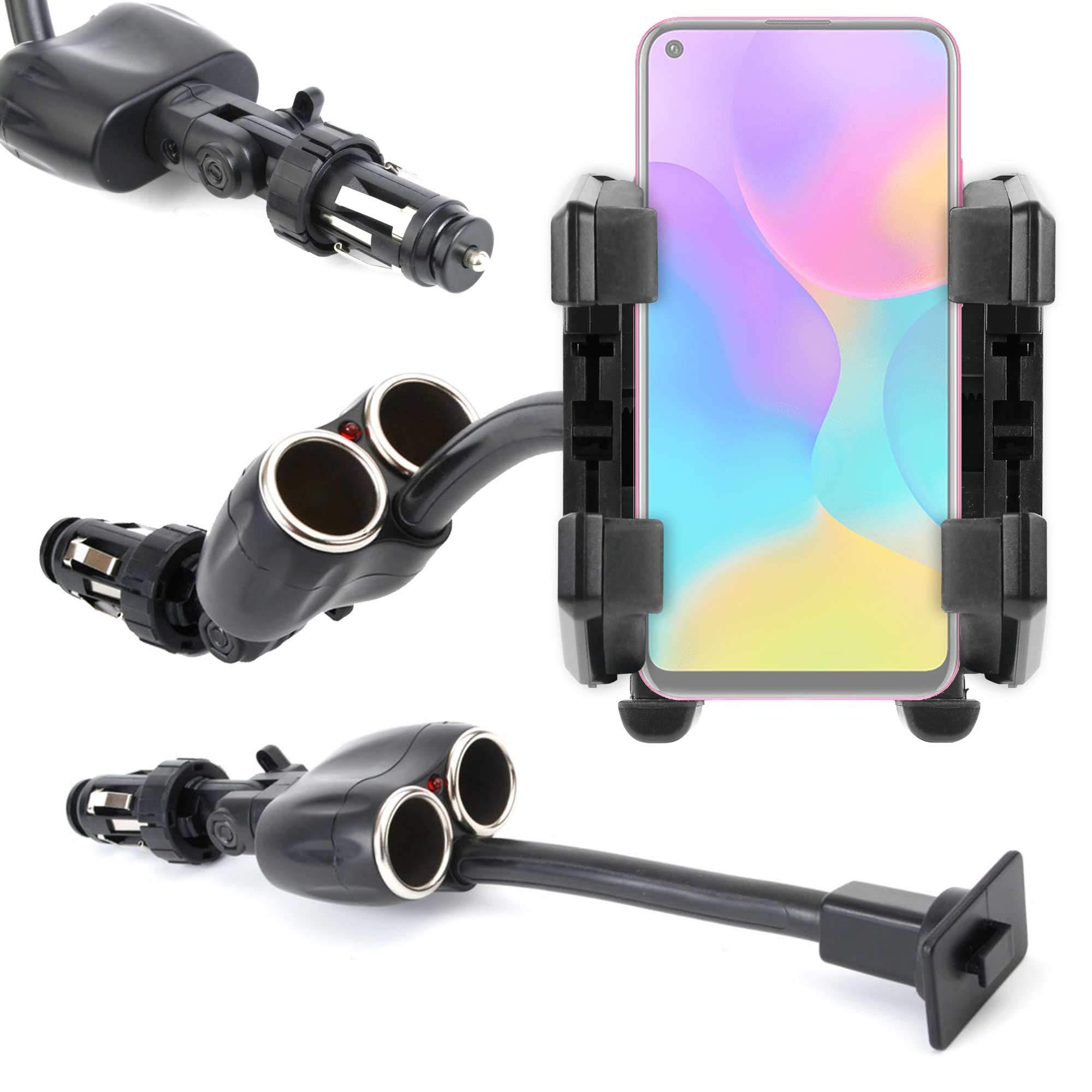 DURAGADGET Soporte para Coche Compatible con Smartphone Energizer ...