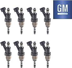 GM 12623116 Original Equipment Nominal Flow Direct Fuel Injector Set (8)
