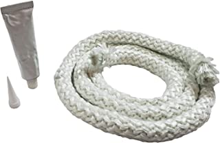 """Pellethead Rope Gasket Replacement Kit for Pellet Wood Gas Fireplaces & Stoves (7/8"""" X 6`)"""