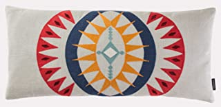 Pendleton Woolen Mills Point Reyes Crewel Embroidered Hug Pillow, One Size