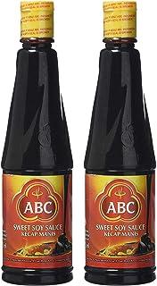 ABC - Salsa de soja dulce (Kecap Manis) 275 ml – (Paquete de 2)