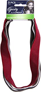 Goody StayPut No Slide Headwraps, 3 Count (Pack of 3)