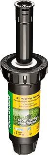 Rain Bird 1803DSQ Professional Dual Spray Pop-Up Sprinkler, 90° Quarter Circle Pattern, 8' - 15' Spray Distance, 3
