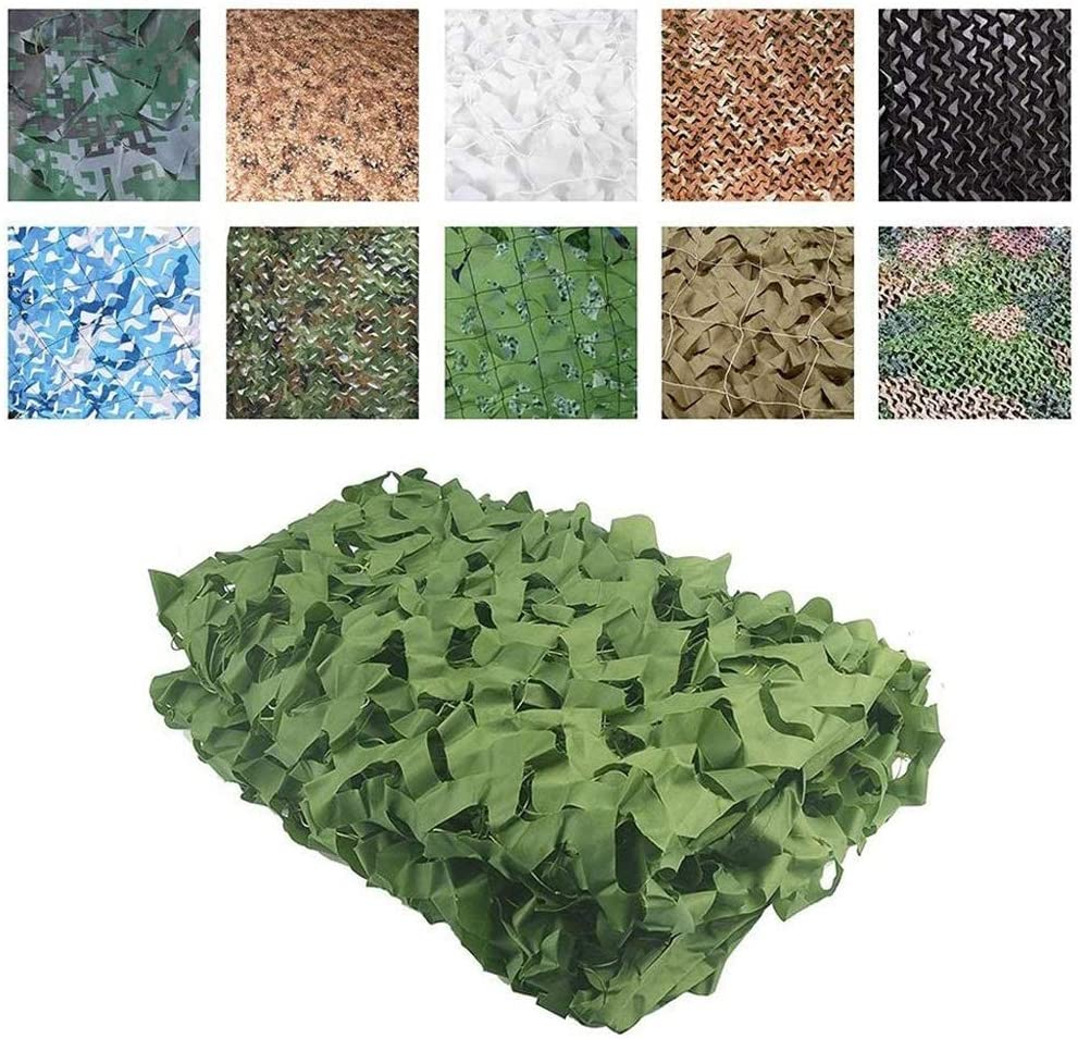 Camo Netting with Mesh Superlatite Backing - Max 64% OFF Green Hunting Blinds Woodland