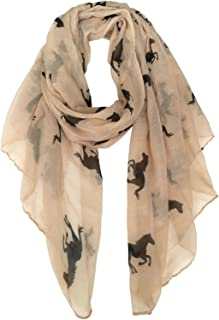 Best horse print scarf Reviews