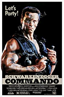 Posters USA - Arnold Schwarzenegger Commando Original Movie Poster GLOSSY FINISH - FIL081 (24