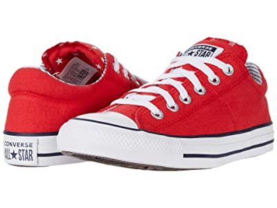 Converse Chuck Taylor All Star Madison Americana Ox (University Red/White/Obsidian) Women