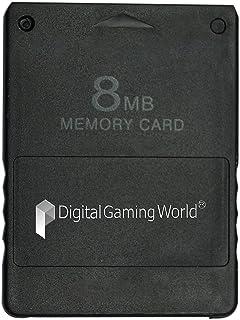 Digital Gaming World® 8-MB Memory Card For PS-2 (Grade-1)