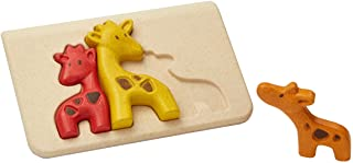 PlanToys 4634 Toy, Multicoloured-Giraffes