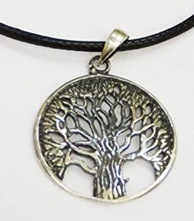 Armenian Tree of Life Sterling Silver Pendant Jewelry