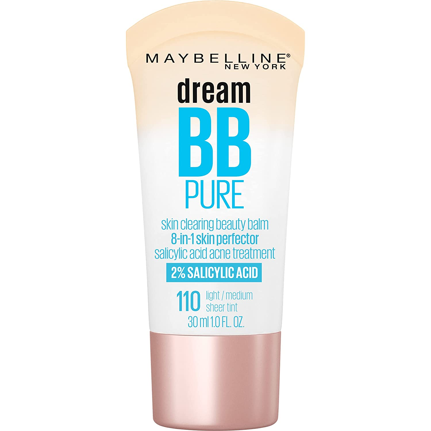 Maybelline Dream Pure Skin Clearing 8-in-1 BB Perfec Tucson OFFicial mail order Mall Cream