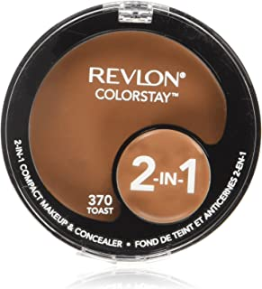 Revlon ColorStay 2-in-1 Compact Makeup & Concealer, Toast