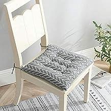 Almofada quadrada de linho, almofada acolchoada, assento acolchoado, piso liso, confortável e confortável, sofá acolchoad...